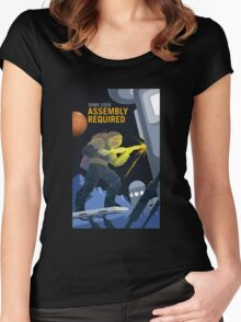 Nasa Mars Recruiting Poster - Some User Assembly Required Women's Fitted Scoop T-Shirt