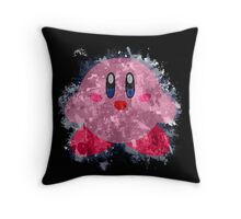 Kirby Splatter Throw Pillow