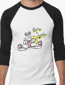 Bef'n'Friends Men's Baseball ¾ T-Shirt