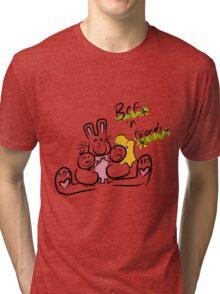 Bef'n'Friends Tri-blend T-Shirt