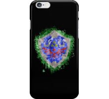 Hylian Shield Splatter iPhone Case/Skin