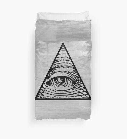Eye of Providence Duvet Duvet Cover