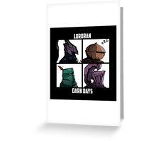 Lordran Greeting Card