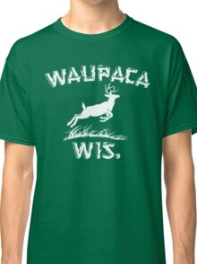 Waupaca Wisconsin Stranger Things Classic T-Shirt