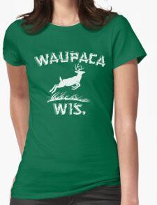 Waupaca Wisconsin Stranger Things Womens Fitted T-Shirt