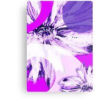 Flower Mash-Up Metal Print