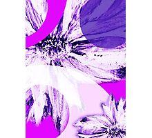 Flower Mash-Up Photographic Print
