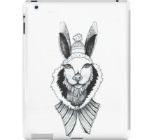 Christmas rabbit iPad Case/Skin