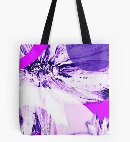 Flower Mash-Up Tote Bag