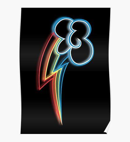 Rainbow Dash Cutie Mark Poster