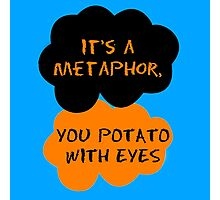 Orange Is The New Black - The Fault in Our Stars Crossover Photographic Print