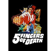 5 Fingers of Death Photographic Print