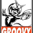Viewtiful Joe Groovy Obey Design by SquallAndSeifer