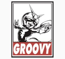 Viewtiful Joe Groovy Obey Design Kids Tee