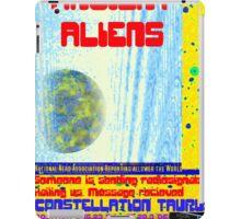 Alien Report iPad Case/Skin