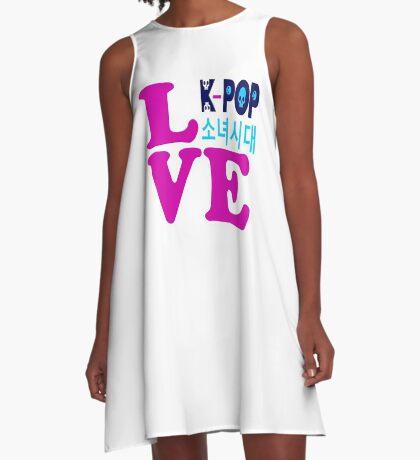 ♥♫Love SNSD-Girls' Generation Fabulous K-Pop Clothes & Phone/iPad/Laptop/MackBook Cases/Skins & Bags & Home Decor & Stationary & Mugs♪♥ A-Line Dress