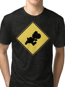 Yoshi Crossing Tri-blend T-Shirt
