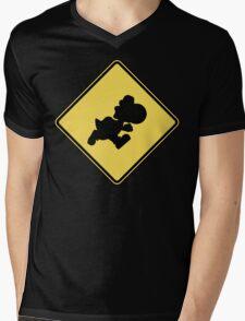 Yoshi Crossing Mens V-Neck T-Shirt