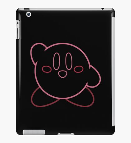 Minimalist Kirby With Face iPad Case/Skin