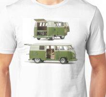 Bay Window Bus green white Unisex T-Shirt