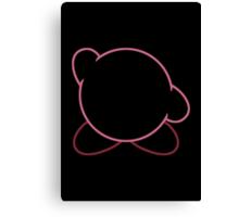 Minimalist Kirby Canvas Print