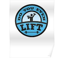 Do You Even Lift? Poster