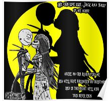 We can live Like Jack and Sally Poster