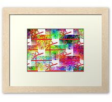 Wrap It Up Framed Print