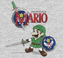 The Legend of Mario One Piece - Long Sleeve