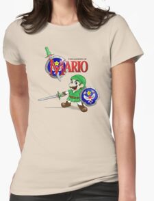 The Legend of Mario Womens Fitted T-Shirt