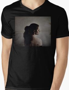 Aligned Mens V-Neck T-Shirt