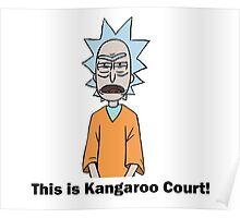 Rick and Morty-- Kangaroo Court Color Poster