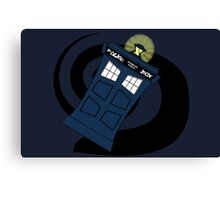 Abstract Tardis 3 Canvas Print