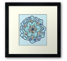 Fish Mandala Framed Print