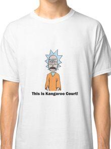 Rick and Morty-- Kangaroo Court Color Classic T-Shirt