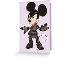 Black Minnie Greeting Card