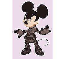 Black Minnie Photographic Print
