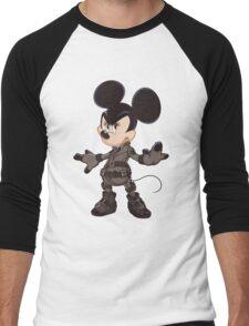 Black Minnie Men's Baseball ¾ T-Shirt