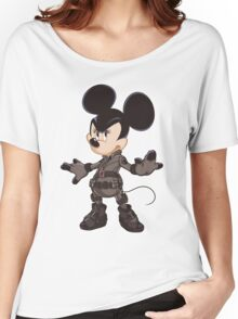 Black Minnie Women's Relaxed Fit T-Shirt