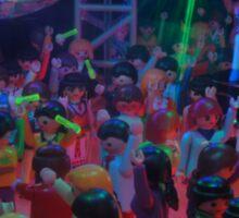 Crowd dancing pt 2 Sticker