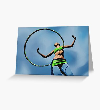 Sky Hooper Greeting Card