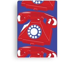 Classic British Telephone Canvas Print