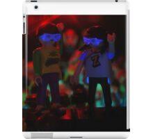Dancing on speakers iPad Case/Skin