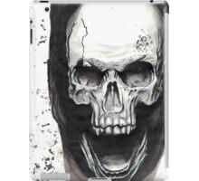 Ink Skull Design iPad Case/Skin