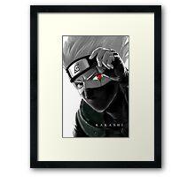 KAKASHI Framed Print