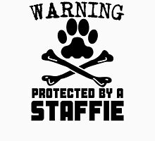Protected By A Staffie Unisex T-Shirt