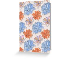 Floral Watercolour  Greeting Card