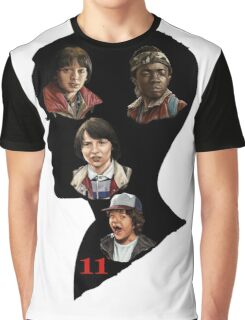 Stranger Things Poster Eleven Graphic T-Shirt