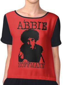 ABBIE HOFFMANN Chiffon Top