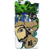 two face art crazy expensive iPhone Case/Skin